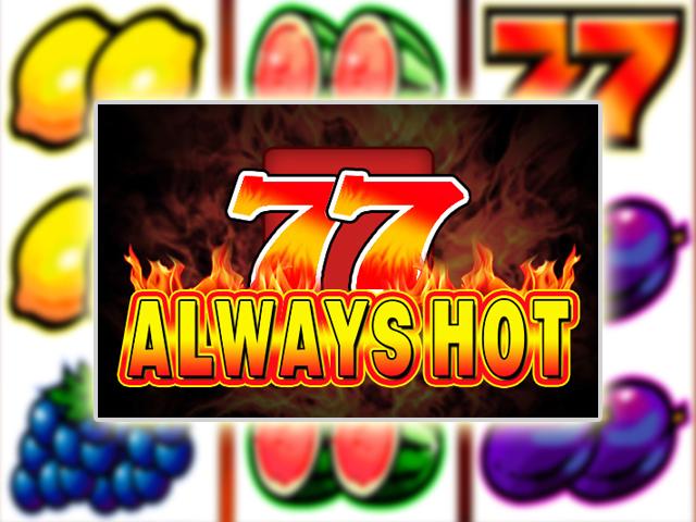 Простой в управлении онлайн-автомат Always Hot